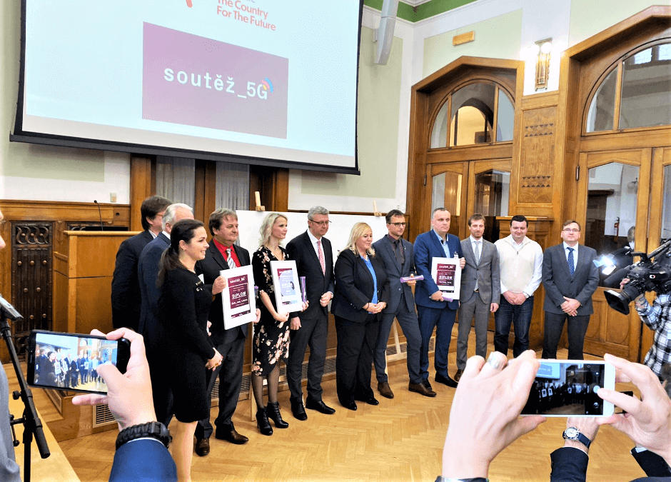 """Ústí nad Labem uspělo v soutěži """"5G pro 5 měst"""" a stane se tak městem budoucnosti v oblasti rychlého přenosu mobilních dat"""